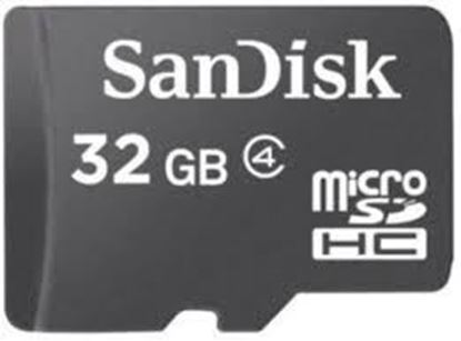 Picture of SANDISK MEMORY CARD 32GB (98 MB)